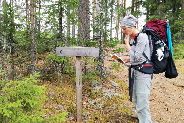 Fragen beim Trekking