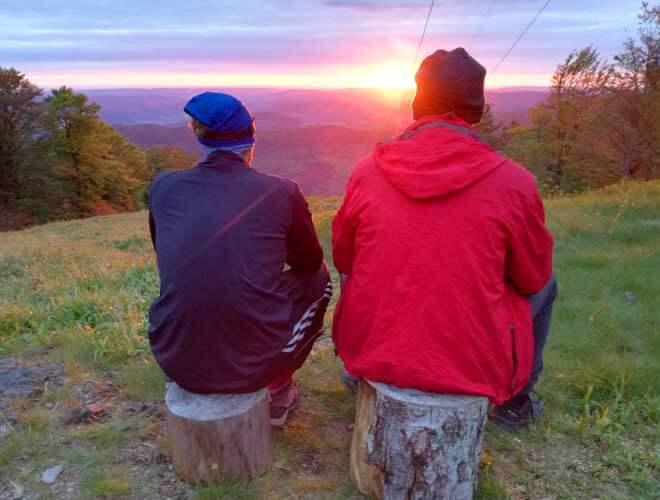 nachhaltige Erlebnisse beim Trekking
