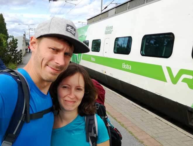 Anreise mit dem ÖV zur Trekkingtour