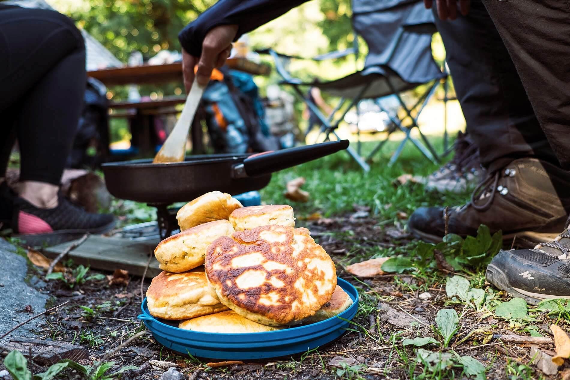 Lagerfeuerküche beim Teamevent im Schwarzwald