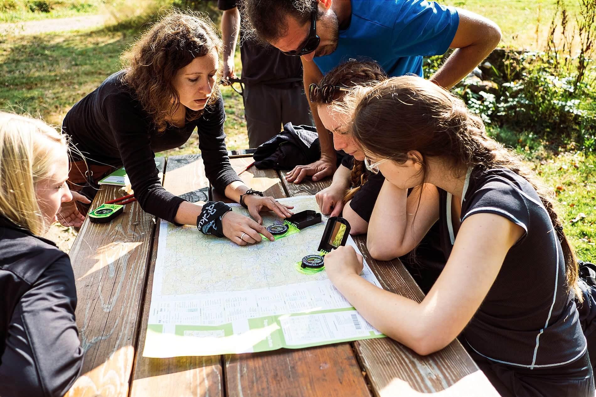 Teamevent Schwarzwald Orientierung lernen
