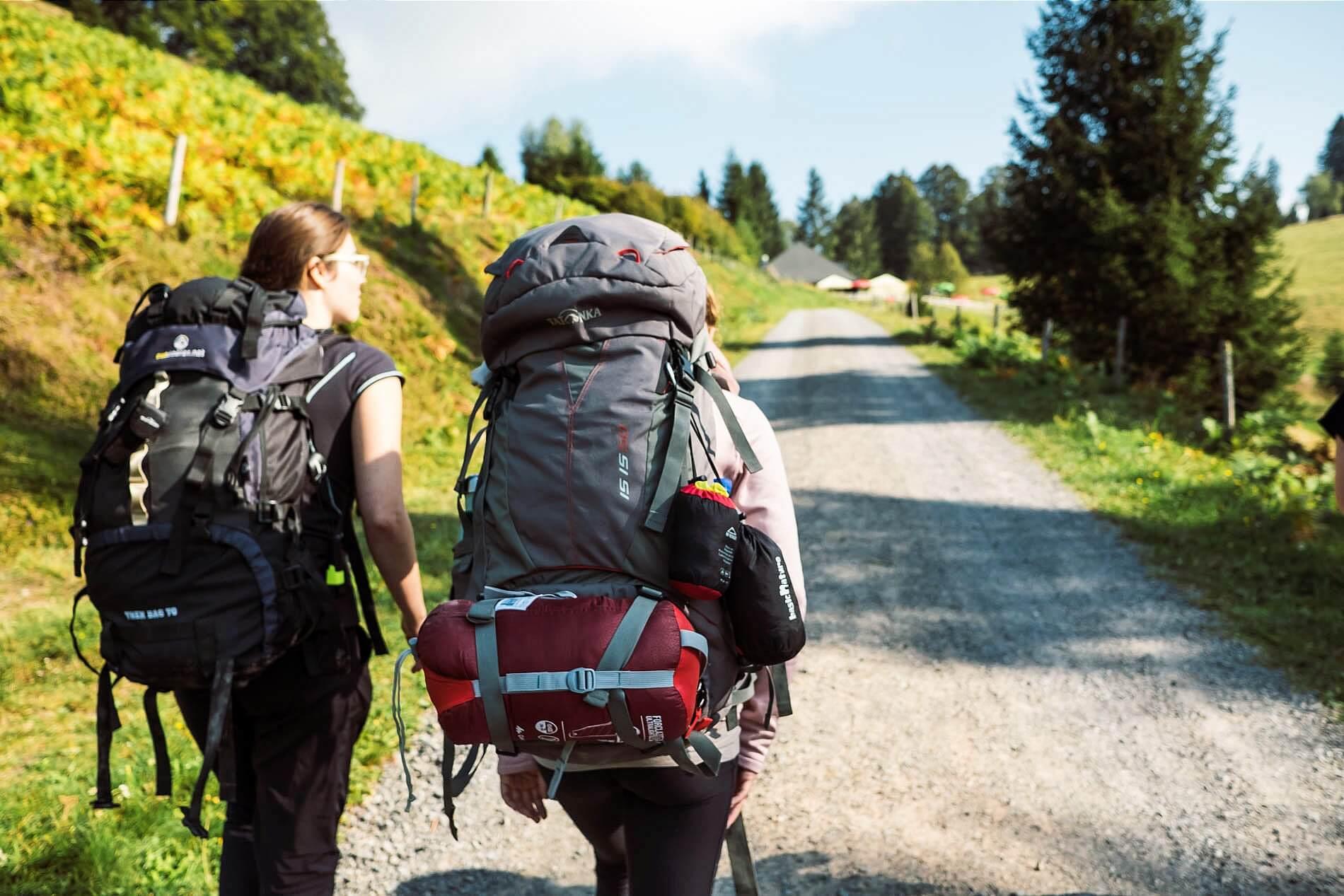 Trekkingtour im Südschwarzwald im Sommer