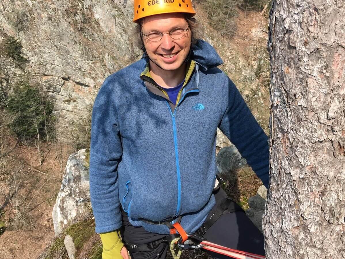 Trekkingguide Marko auf Tour im Schwarzwald